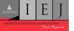 """Institut d'Études Judiciaires """"Pierre Raynaud"""""""