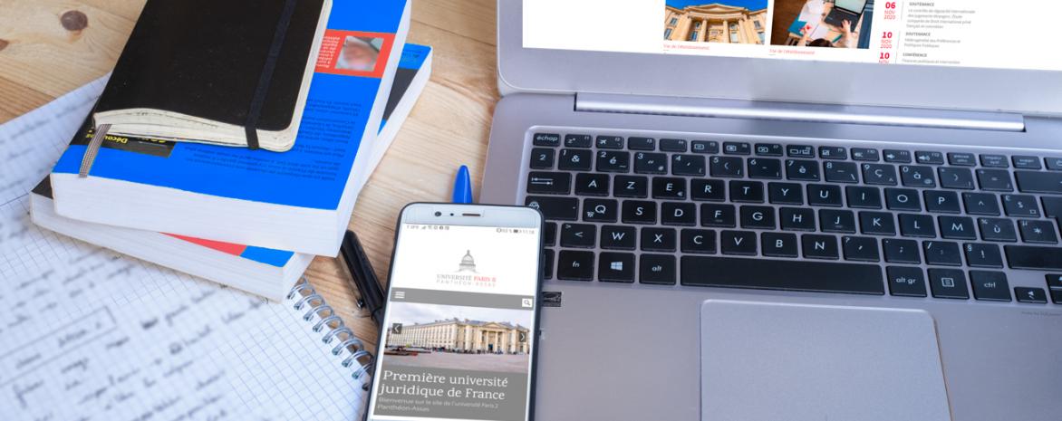 Site Internet de l'université Paris 2 Panthéon-Assas